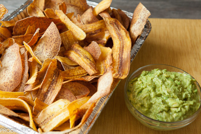 Chips and Guasacaca